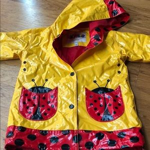 Girls rain jacket 3T